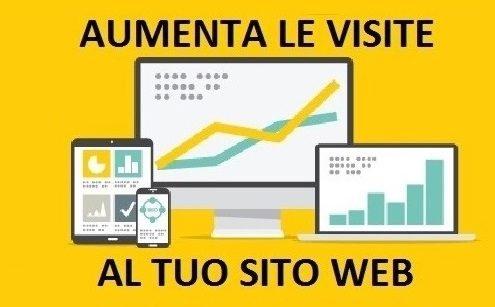 aumentare visite sito web