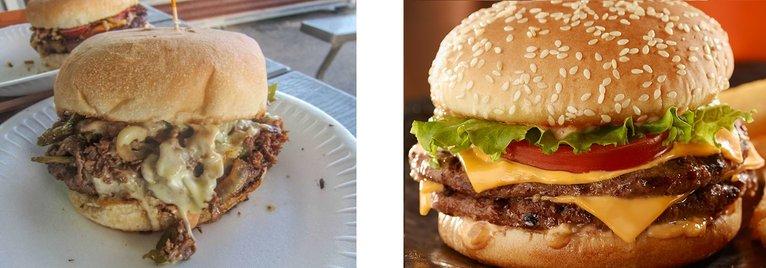 creare blog cucina di successo, foto hamburger