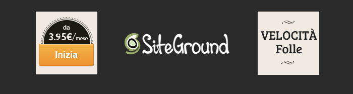 acquistare SiteGround