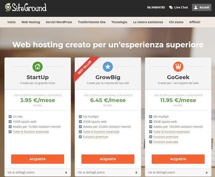 siteground gogeek growbig startup
