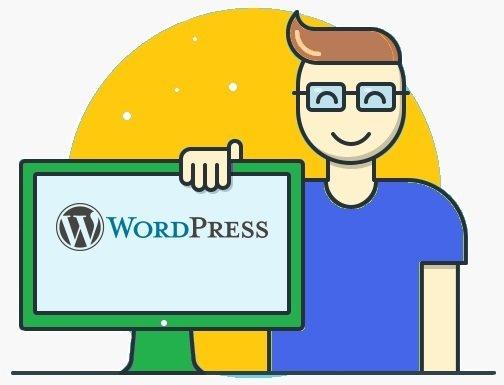 wordpress servizio setup