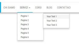 guida per capire come creare un menu a tendina su wordpress
